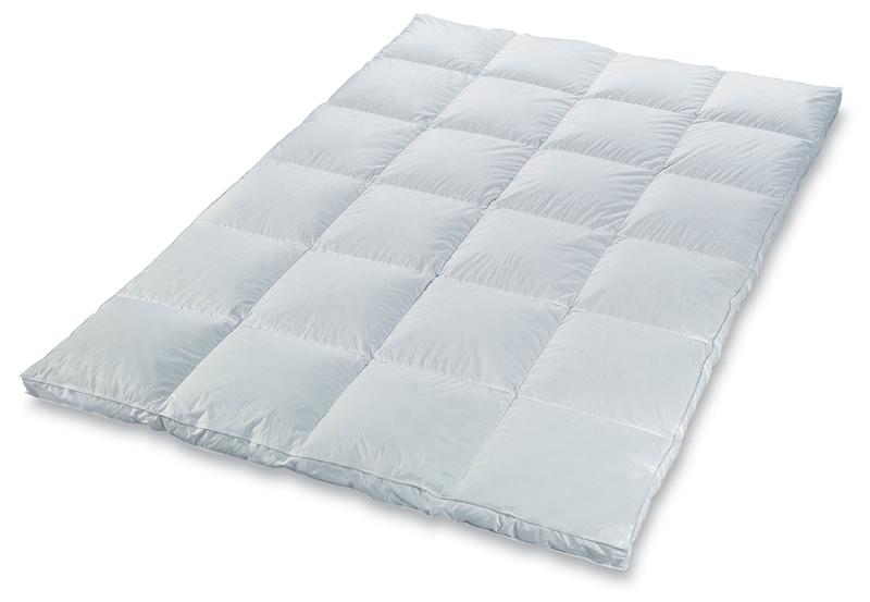sanders select daunen kassettendecke warm 135x200cm bettenshop deluxe. Black Bedroom Furniture Sets. Home Design Ideas